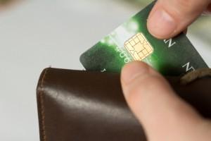 財布のカード